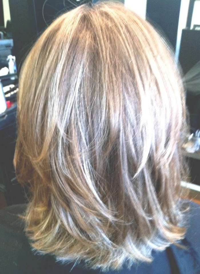 Best 25+ Medium Layered Hairstyles Ideas On Pinterest | Medium Regarding Most Popular Medium Haircuts Layered Styles (View 19 of 25)