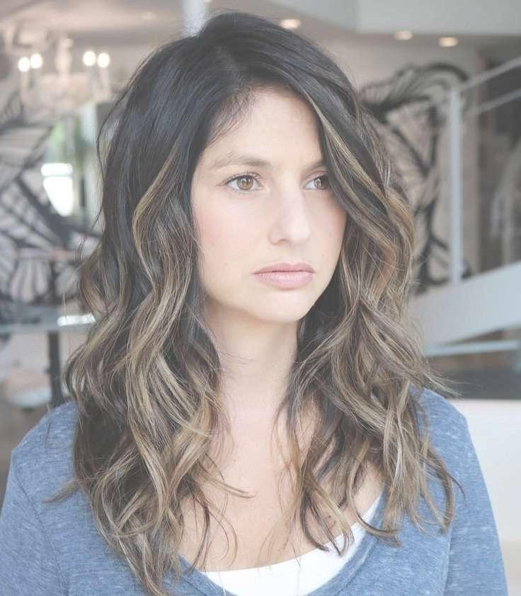 Best 25+ Medium Length Layered Hair Ideas On Pinterest | Medium Regarding 2018 Medium Medium Haircuts For Thick Wavy Hair (View 19 of 25)