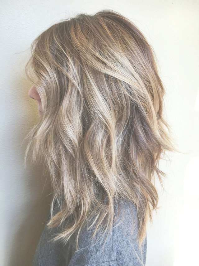Best 25+ Medium Length Layered Hairstyles Ideas On Pinterest With Regard To 2018 Medium Haircuts With Layers (View 4 of 25)