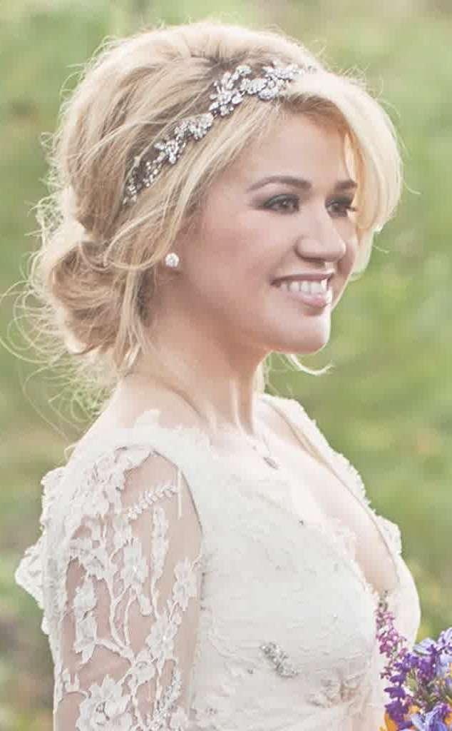Best 25+ Medium Length Wedding Hair Ideas On Pinterest | Medium Intended For Most Recent Bridal Medium Hairstyles (View 3 of 25)