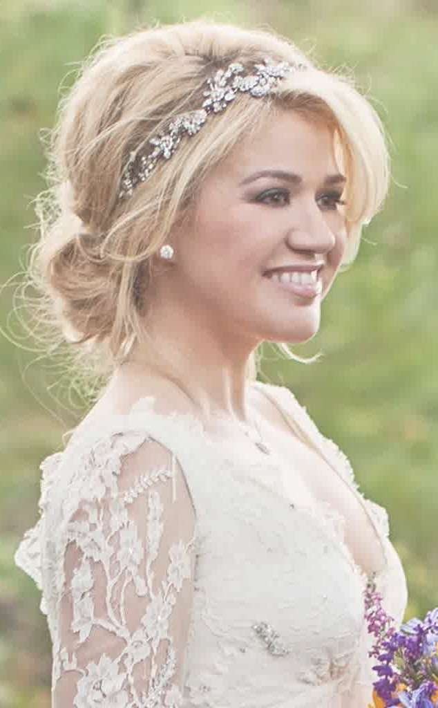 Featured Photo of Medium Hairstyles For Brides