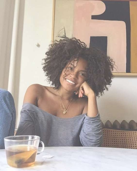 Best 25+ Medium Natural Hair Ideas On Pinterest | Natural Twist In Current Medium Haircuts For Black Women With Natural Hair (View 17 of 25)