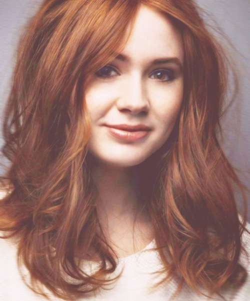 Best 25+ Medium Red Hair Ideas On Pinterest | Red Hair Cuts, Red Intended For Most Recently Auburn Medium Haircuts (View 9 of 25)