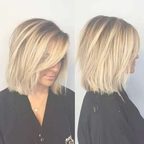Best 25+ Medium Short Haircuts Ideas On Pinterest | Shirt Bob In Most Popular Medium Haircuts For Petite Women (View 14 of 25)