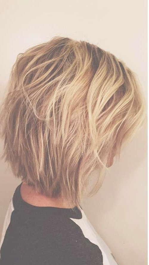 Best 25+ Medium Short Haircuts Ideas On Pinterest | Shirt Bob Inside Recent Medium Haircuts With Short Layers (View 19 of 25)