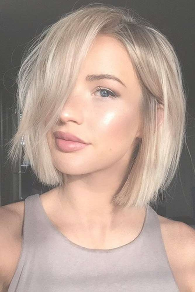 Best 25+ Medium Short Haircuts Ideas On Pinterest | Shirt Bob With Regard To 2018 Medium Haircuts For Petite Women (View 2 of 25)