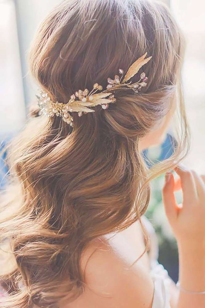 Best 25+ Medium Wedding Hair Ideas On Pinterest | Bridesmaid Hair Inside Most Up To Date Bridal Medium Hairstyles (View 4 of 25)