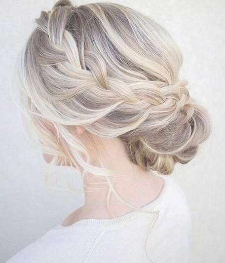 Best 25+ Medium Wedding Hair Ideas On Pinterest | Bridesmaid Hair Regarding Recent Elegant Medium Hairstyles For Weddings (View 10 of 25)