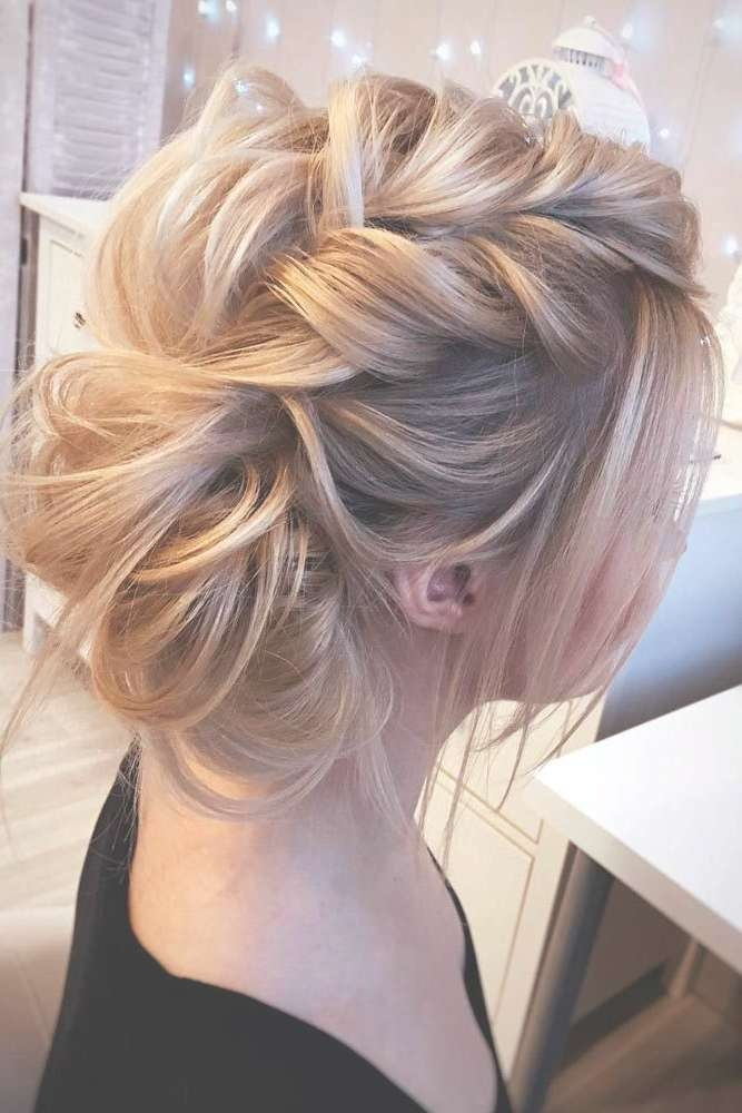 Best 25+ Medium Wedding Hair Ideas On Pinterest | Bridesmaid Hair With Regard To Current Medium Hairstyles For Weddings For Bridesmaids (View 10 of 15)