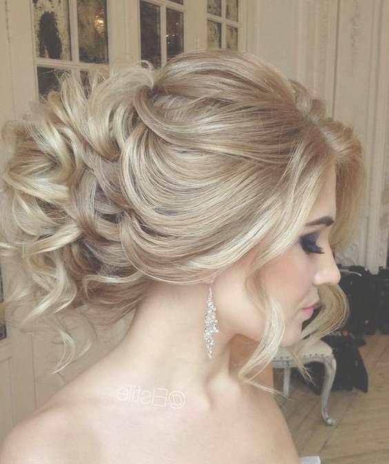 Best 25+ Medium Wedding Hairstyles Ideas On Pinterest | Wedding Inside Most Up To Date Elegant Medium Hairstyles For Weddings (View 12 of 25)
