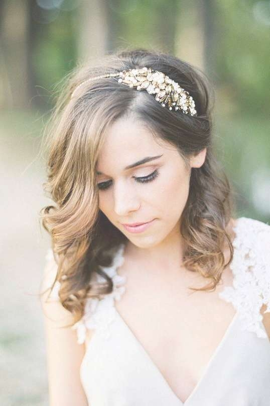 Featured Photo of Bridal Medium Hairstyles