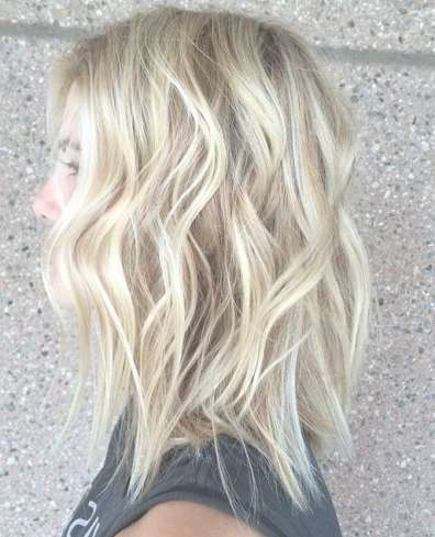 Best 25+ Messy Beach Waves Ideas On Pinterest | Messy Waves Inside Most Up To Date Medium Hairstyles Beach Waves (View 24 of 25)
