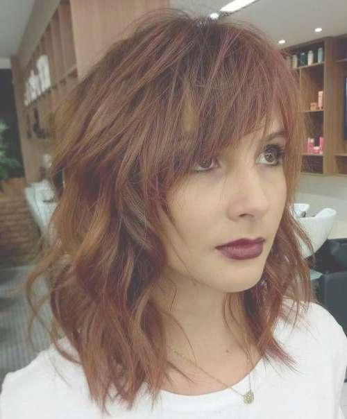Best 25+ Messy Medium Hair Ideas On Pinterest | Medium Hair Cuts With Most Recently Messy Medium Hairstyles (View 23 of 25)