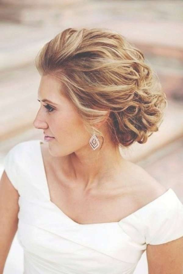 Best 25+ Mother Of The Bride Hair Ideas On Pinterest | Mother Of Intended For Most Up To Date Elegant Medium Hairstyles For Weddings (View 14 of 25)