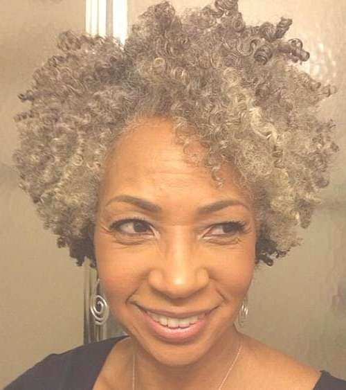 Best 25+ Natural Hair Styles For Black Women Ideas On Pinterest Throughout Newest Medium Hairstyles For Black Women With Gray Hair (View 13 of 15)