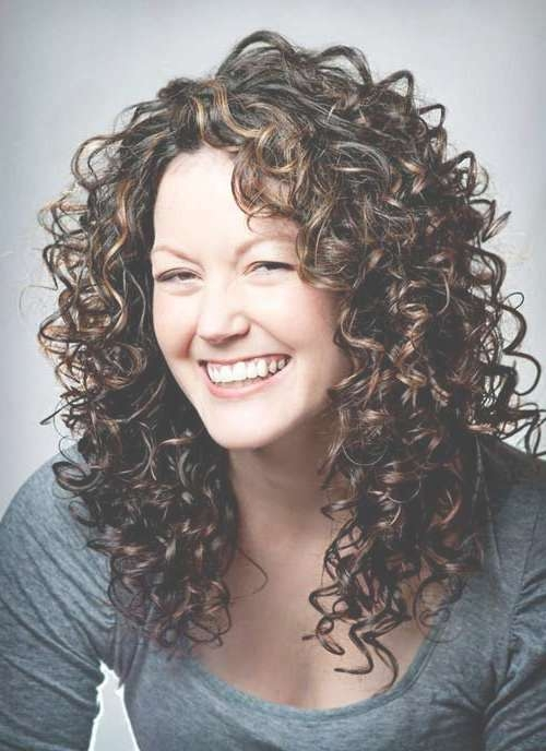 Best 25+ Naturally Curly Haircuts Ideas On Pinterest | Layered In Latest Medium Haircuts For Wavy Frizzy Hair (View 23 of 25)