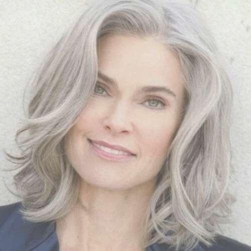 Best 25+ Older Women Hairstyles Ideas On Pinterest | Short Hair Inside Most Popular Older Lady Medium Hairstyles (View 10 of 15)