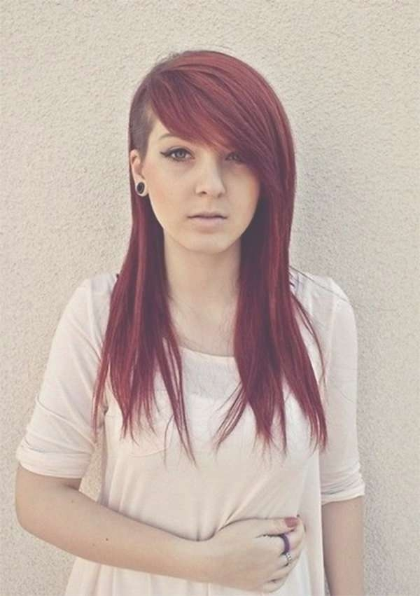 Best 25+ One Side Hairstyles Ideas On Pinterest | One Side Hair In Most Recent One Side Short One Side Medium Hairstyles (View 21 of 25)