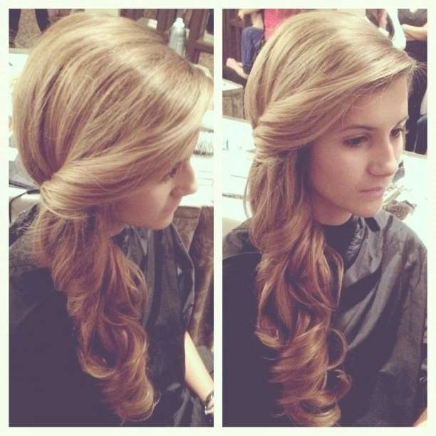 Best 25+ One Side Hairstyles Ideas On Pinterest | One Side Hair Pertaining To Newest One Side Medium Hairstyles (View 24 of 25)