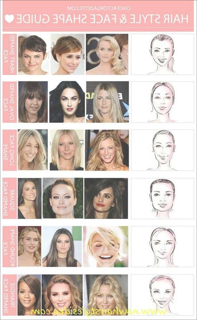 Best 25+ Oval Face Hairstyles Ideas On Pinterest | Hairstyles For Regarding Best And Newest Medium Haircuts For Different Face Shapes (View 11 of 25)