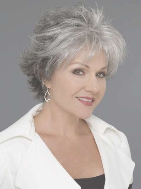 Best 25+ Over 60 Hairstyles Ideas On Pinterest | Hairstyles For Regarding Newest Medium Haircuts For Women With Grey Hair (View 23 of 25)