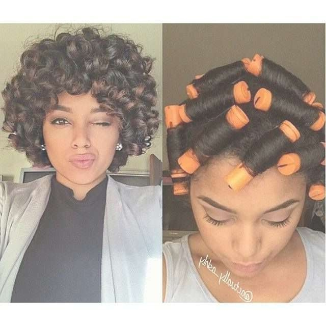 Best 25+ Perm Rod Set Ideas On Pinterest | Rod Set Natural Hair With Recent Medium Haircuts For Relaxed Hair (View 8 of 25)