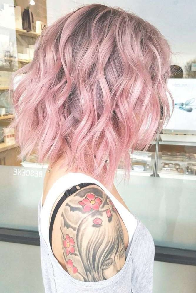 Best 25+ Pink Short Hair Ideas On Pinterest | Grey Dyed Hair, Teal Intended For Latest Pinks Medium Haircuts (View 3 of 25)