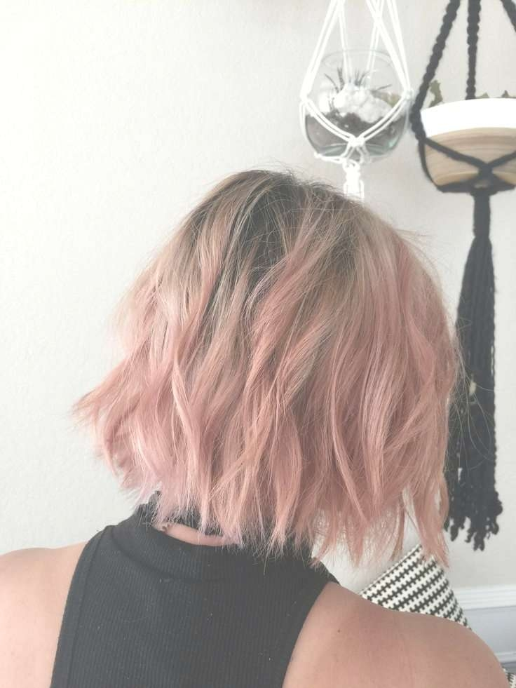 Best 25+ Pink Short Hair Ideas On Pinterest | Grey Dyed Hair, Teal Regarding Latest Pink Medium Haircuts (View 24 of 25)