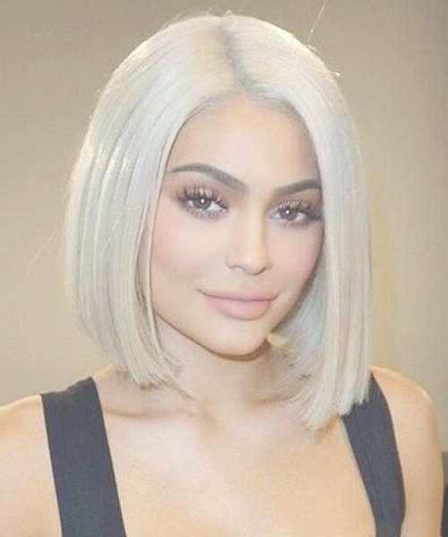 Best 25+ Platinum Blonde Hairstyles Ideas On Pinterest | Platinum Throughout Most Recently Platinum Blonde Medium Hairstyles (View 7 of 15)