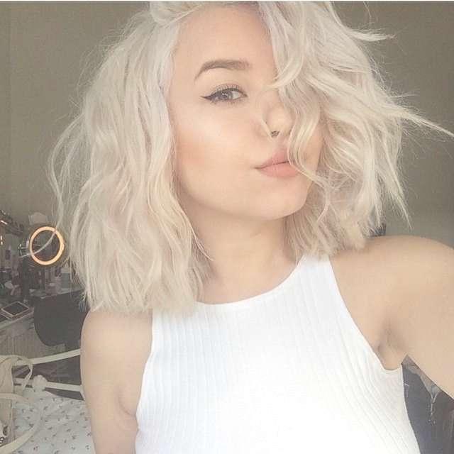 Best 25+ Platinum Blonde Ideas On Pinterest | Platinum Blonde Hair Throughout Most Recent Platinum Blonde Medium Hairstyles (View 8 of 15)