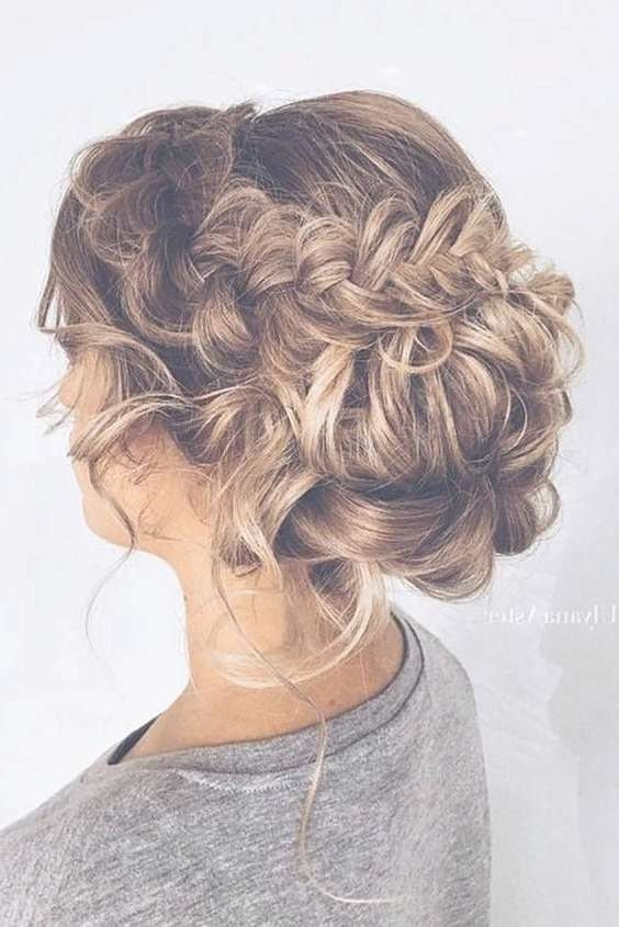 Best 25+ Prom Hair Ideas On Pinterest | Prom Hairstyles, Hair For In Best And Newest Medium Hairstyles For Prom (View 2 of 25)