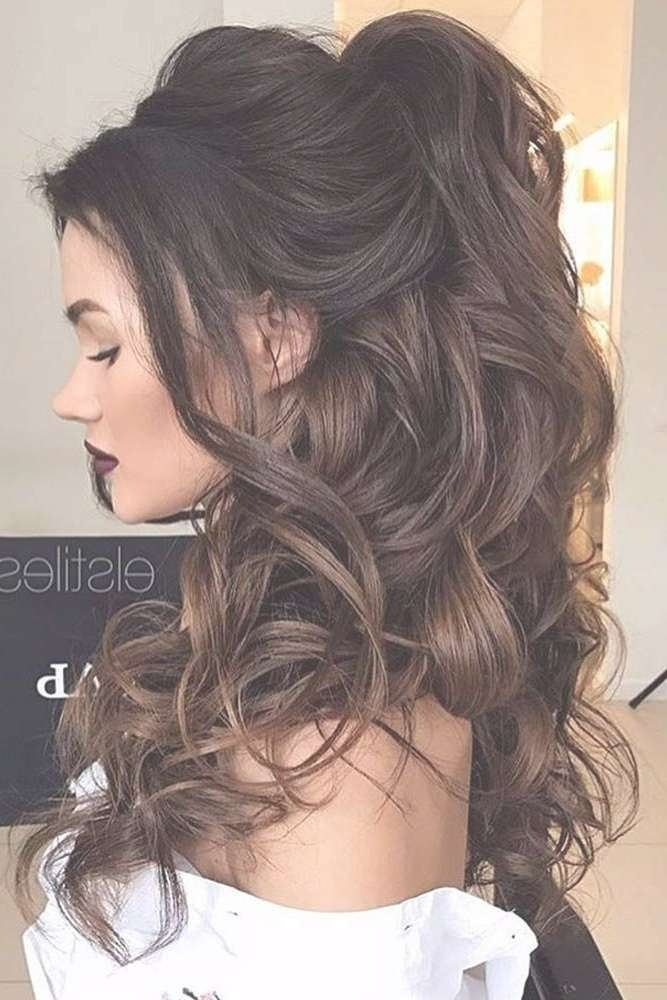 Best 25+ Prom Hair Ideas On Pinterest | Prom Hairstyles, Hair For With Best And Newest Long Hairstyle For Prom (View 14 of 25)