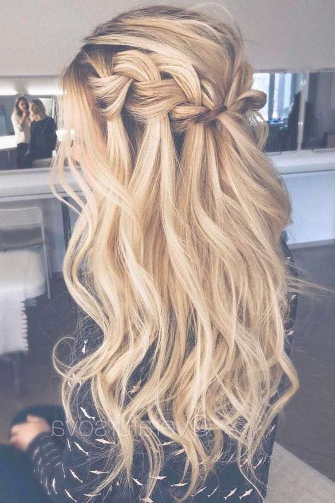 Best 25+ Prom Hair Ideas On Pinterest | Prom Hairstyles, Hair For With Newest Long Prom Hairstyles (View 15 of 25)