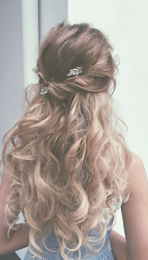 Best 25+ Prom Hair Ideas On Pinterest | Prom Hairstyles, Hair For With Regard To Latest Long Prom Hairstyles (View 4 of 25)