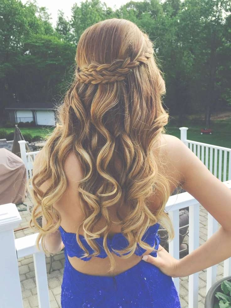 Best 25+ Prom Hairstyles Down Ideas On Pinterest   Formal Regarding Most Up To Date Long Ball Hairstyles (View 12 of 25)