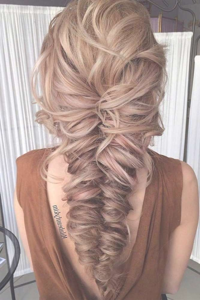 Best 25+ Prom Hairstyles Ideas On Pinterest | Hair Styles For Prom Intended For 2018 Medium Hairstyles For Prom (View 4 of 25)