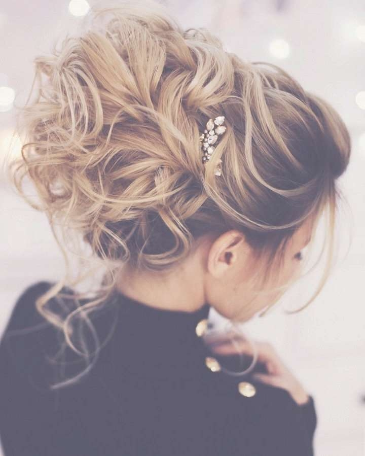 Best 25+ Prom Hairstyles Ideas On Pinterest | Hair Styles For Prom Regarding Newest Medium Hairstyles For Dances (View 23 of 25)