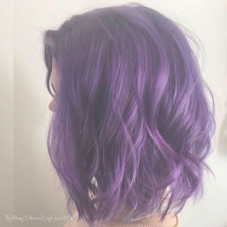 Best 25+ Purple Hair Styles Ideas On Pinterest   Purple Hair In 2018 Purple Medium Hairstyles (View 9 of 25)