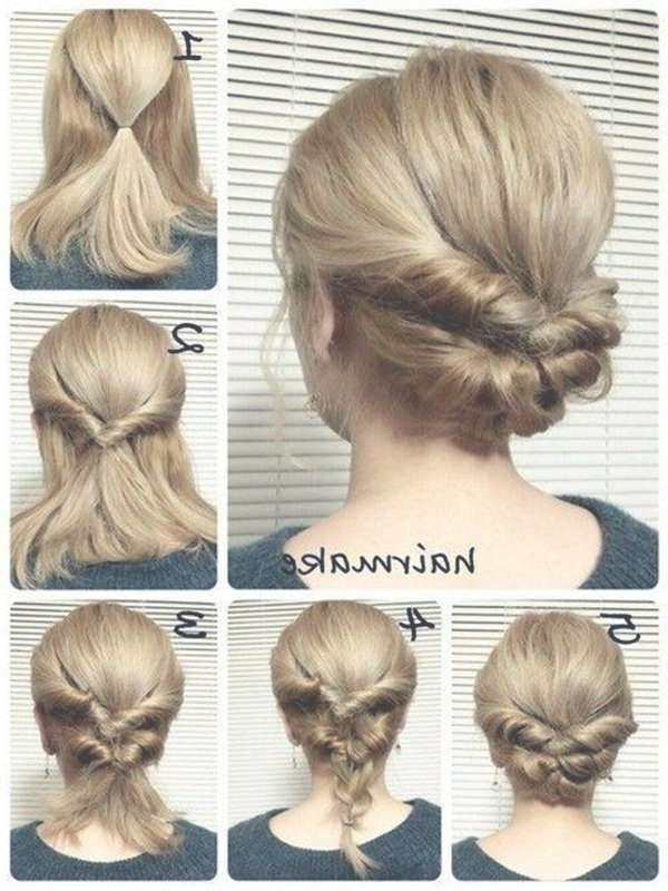 Best 25+ Quick Work Hairstyles Ideas On Pinterest | Quick Hair Throughout Most Current Medium Hairstyles For Work (View 8 of 15)