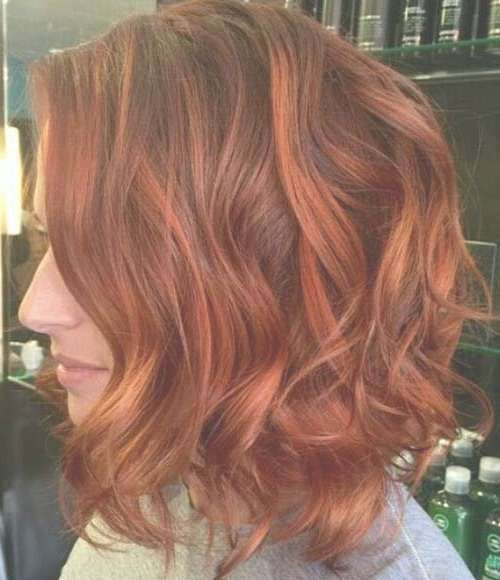 Best 25+ Red Bob Hair Ideas On Pinterest | Red Long Bob, Graduated Within 2018 Medium Haircuts With Red Color (View 6 of 25)