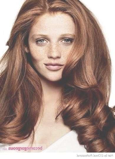 Best 25+ Red Hair Cuts Ideas On Pinterest | Medium Red Hair, Fall Inside Most Recently Auburn Medium Haircuts (View 25 of 25)