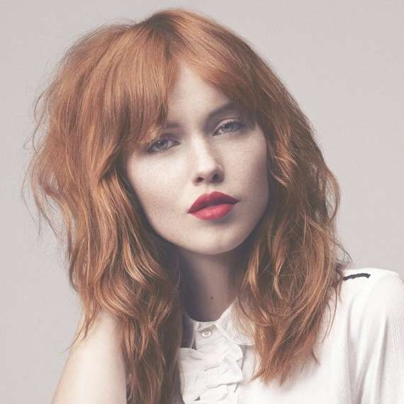 Best 25+ Red Hair Lob Ideas On Pinterest | Auburn Hair With Pertaining To Most Recent Medium Haircuts With Red Hair (View 19 of 25)