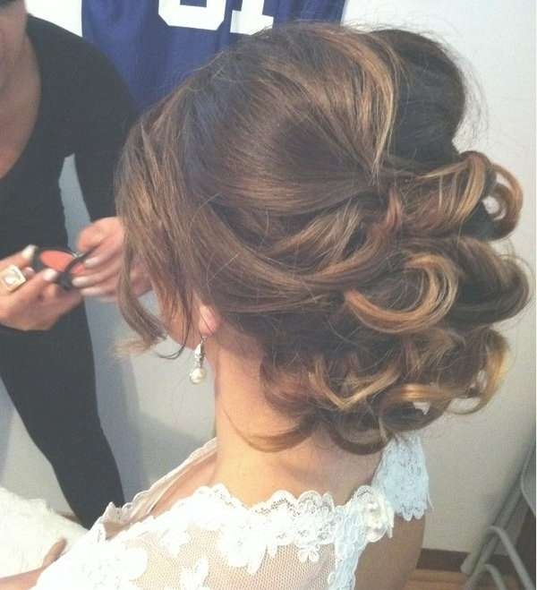 Best 25+ Romantic Wedding Hairstyles Ideas On Pinterest | Wedding For Most Current Elegant Medium Hairstyles For Weddings (View 15 of 25)