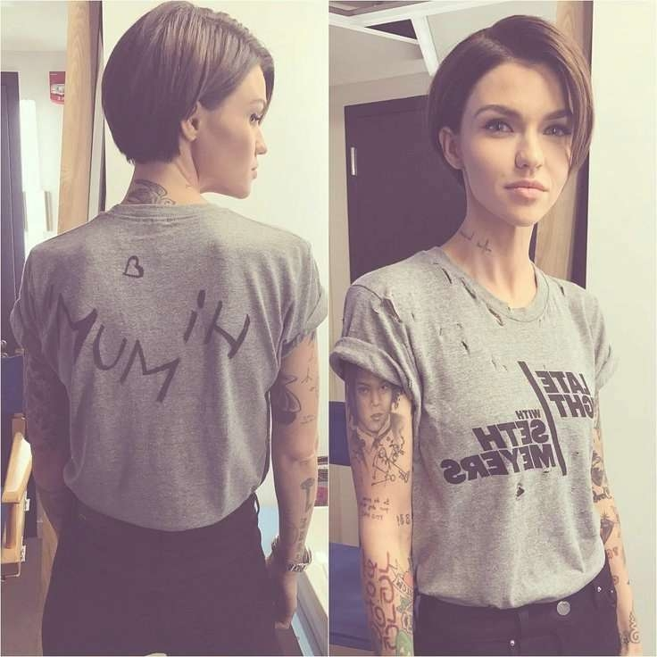Best 25 Ruby Rose Hair Ideas On Pinterest