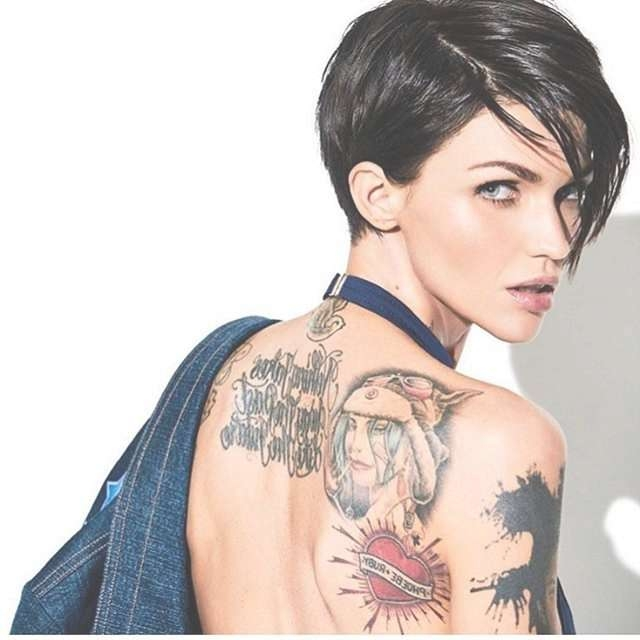 Best 25+ Ruby Rose Ideas On Pinterest | Ruby Rose Hair, Girl For Latest Ruby Rose Medium Hairstyles (View 6 of 15)