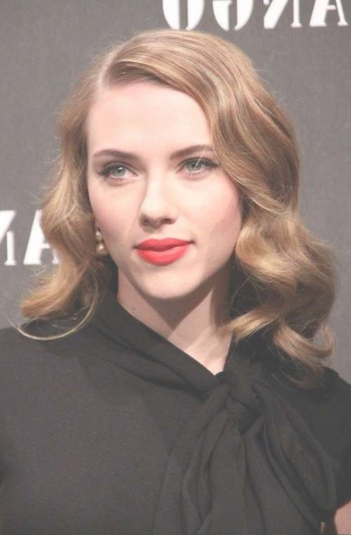 Best 25+ Scarlett Johansson Hair Ideas On Pinterest | Scarlett Throughout Current Old Hollywood Medium Hairstyles (View 12 of 25)