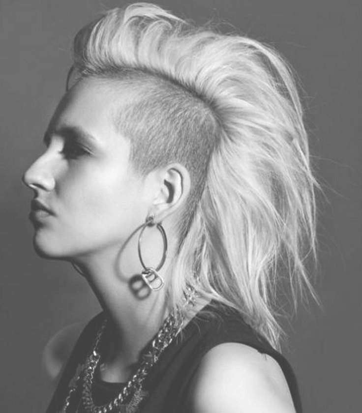 Best 25+ Shaved Side Hairstyles Ideas On Pinterest | Side Undercut Inside Most Recent Medium Haircuts With One Side Shaved (View 17 of 25)