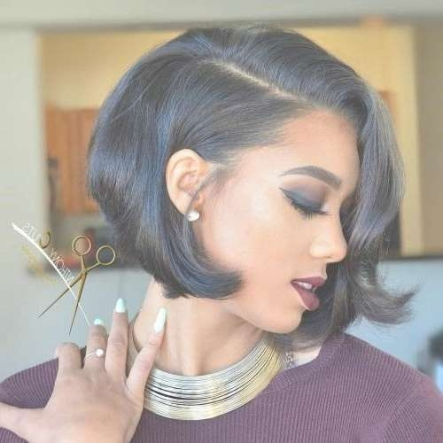 Best 25+ Short African American Hairstyles Ideas On Pinterest With Regard To Latest Medium Hairstyles For African American Women (View 22 of 25)