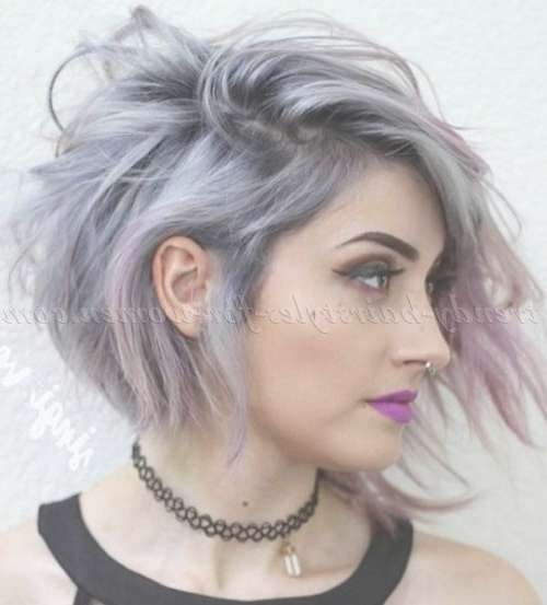 Best 25+ Short Asymmetrical Hairstyles Ideas On Pinterest | Pixie Throughout Current Medium Haircuts With One Side Longer Than The Other (View 6 of 25)