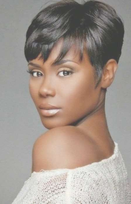 Best 25+ Short Black Hairstyles Ideas On Pinterest | Bob For Black Regarding Recent Medium Haircuts For Black Women With Oval Faces (View 18 of 25)